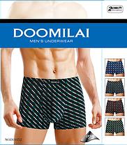 Мужские боксеры стрейчевые из бамбука  Марка  «DOOMILAI»  Арт.D-01052, фото 2