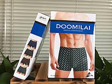 Мужские боксеры стрейчевые из бамбука  Марка  «DOOMILAI»  Арт.D-01052, фото 3