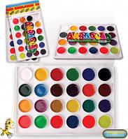 Краски акварельные медовые Люкс Колор 24 цвета