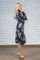 Женское трикотажное платье с карманами, фото 2