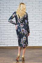 Женское трикотажное платье с карманами, фото 3