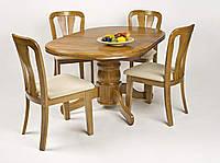 Стол кухонный раздвижной, A15, чайный дуб, фото 1