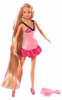 Кукла Штеффи с длинными волосами (светло-розовая расческа), Steffi & Evi Love (573 4130-1)