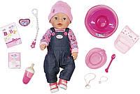 Кукла пупс Baby Born Беби Борн Стильная красотка джинсовый стиль Zapf Creation 824238