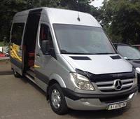 Аренда микроавтобуса Mersedes Sprinter 8 мест с спальными местами