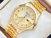 Золотые часы Gucci на металлическом браслете