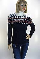 жіночий вязаний светр гольф   Caroon