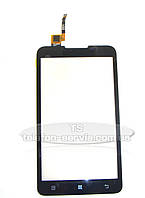 Сенсорный экран Lenovo A590, черный