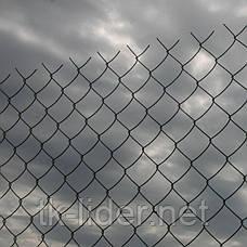Сетка рабица, сетка рабица в рулонах ,   50х50 д= 1.6 мм. 10000*1200 мм,   оц, фото 2
