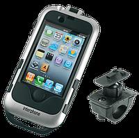 Чехол Interphone для IPhone4 с креплением для трубчатых рулей серый