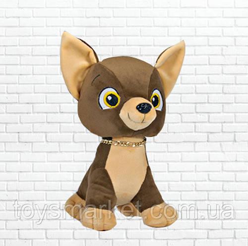 Мягкая игрушка собака Тимон