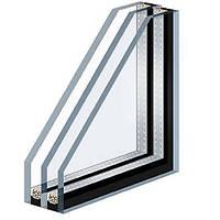 Стеклопакет теплый с Аргоном и стеклом с напылением 32 мм