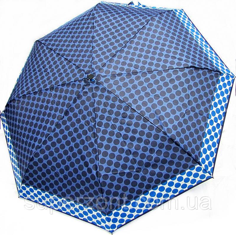 Зонт женский, полный автомат Doppler 7440265PA-2 (Синий купол) система антиветер.