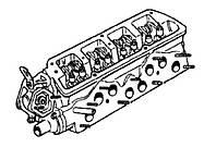 Оригинальная головка двигателя МеМЗ-245 245-1003011. Новая голая головка Таврии. Головка блока Tavria