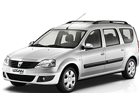 Накладки на пороги Renault Logan MCV