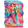 Кукла русалка Барби Сверкающие огоньки Mattel DHC40