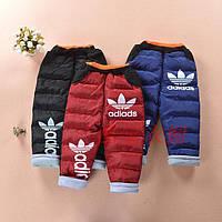 Детские зимние штаны для мальчика Спорт