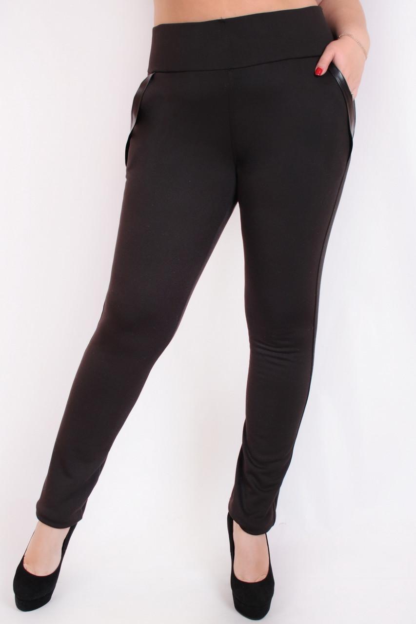 Леггинсы брюки Карман флис