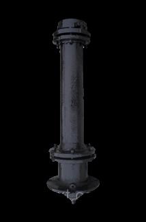 Гидрант пожарный чугунный Н-3,75