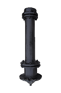 Гидрант пожарный чугунный Н-3,75, фото 2