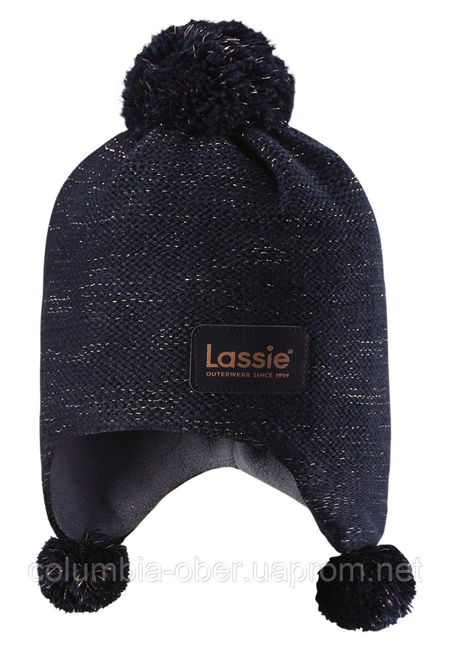 Зимняя шапка для девочки Lassie by Reima 728717-6960 Размер S.