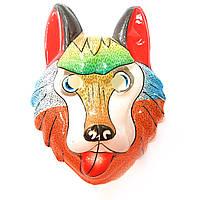 Детская маска  Собака - пластик, 3Д