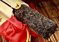 Чай Шен Пуэр в бамбуке, 400 грамм