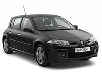 Накладки на пороги Renault Megane 2 (2004-2010)