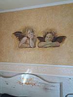 Фреска - анелы Рафаеля -