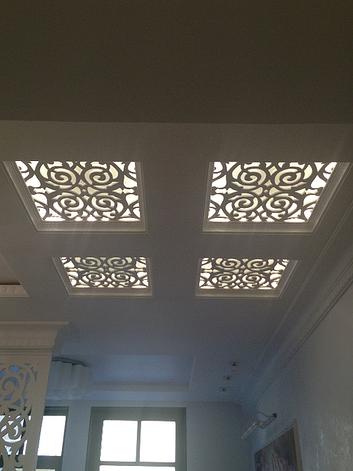 Резные решетки для потолка, фото 2