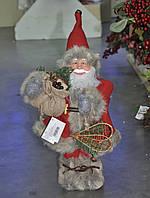 Дед мороз красный (лесной) 40 см .Харьков розница., фото 1