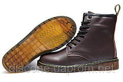 Зимние мужские ботинки Dr. Martens, коричневый, на меху, р. 36 37 38 41 42 43