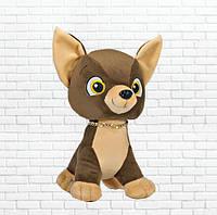 Детская мягкая игрушка собака Тимон