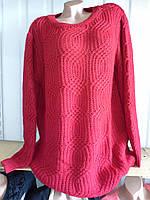 Женский свитер большого размера 1К