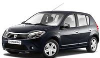 Накладки на пороги Renault Sandero (2007-2013)