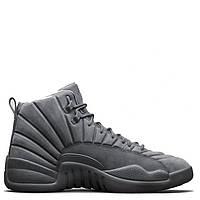 Баскетбольные кроссовки Air Jordan 12 Retro Grey, серые, арт. 2031