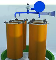 Газоочистная установка с вертикальным расположением картриджей