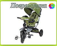 Детский трехколесный велосипед Crosser T 350 - Зелёный