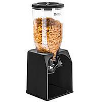 Диспенсер для мюслей раздаточное устройство сыпучих продуктов хлопьев леденцов кофе 3л