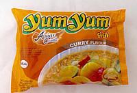 Лапша быстрого приготовления со вкусом карри (Halal) Yum Yum 60 г