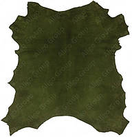 Велюр-шевро Royal зеленый армейский, фото 1