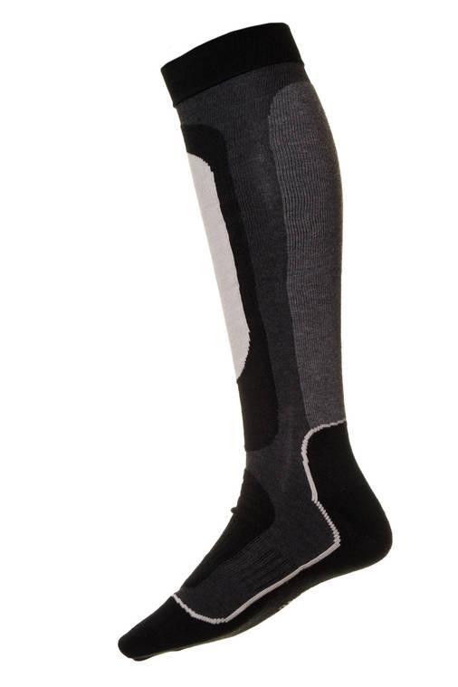 Носки лыжные Ski Kniestrumpf Grey 43-46, фото 2