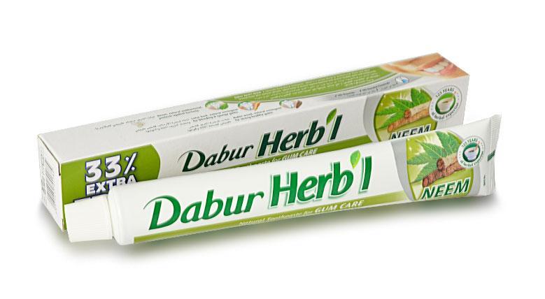 Зубная паста с нимом Dabur, 100 г