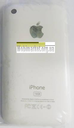 Задня кришка IPHONE 3G 16GB white, фото 2