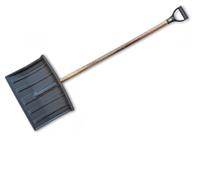 """Лопата для уборки снега """"Bradas"""" (Польша). Широкий ковш с металлической вставкой."""