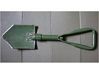 Оригинальная складная лопата Бундесвера + чехол.