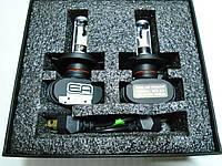 Светодиодные LED лампы для автомобиля в ближний и дальний свет фар H4 12-24В