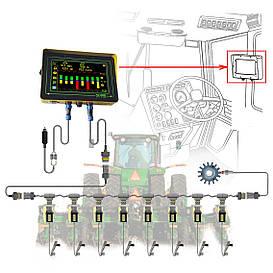 Система контроля высева Record  на Vega (8 рядов+семяпроводы)