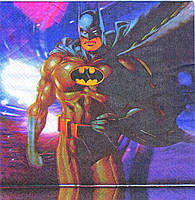 Салфетки праздничные Бэтмен 10 шт