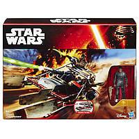 """SW Космический корабль вселенной """"Звездные войны"""" 9,5см Класс ІІ, Desert Landspeeder, B3672/B3674"""